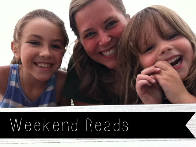weekend reads me, lu and tay